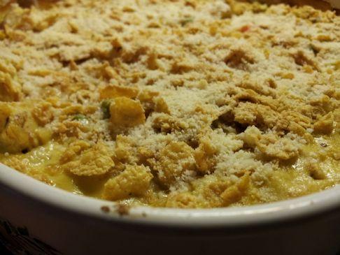 Chicken Alfredo & Brown Minute Rice Casserole