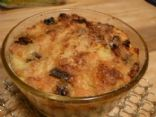Fat Free Microwave Bread Pudding!