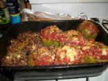 Daniel Walker's Italian Stuffed Bell Peppers
