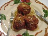 Baked Italian Meatballs