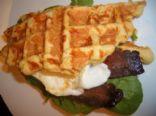Cheddar Cornmeal Waffles