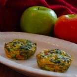 MAKEOVER: Crustless Spinach Quiche *Breakfast to Go*  (by PAML66)