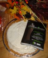 Shakeology Chocolate Pumpkin Pie