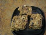 Peanut Butter Trail Mix Bars
