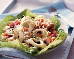 Tortellini and Ham Salad