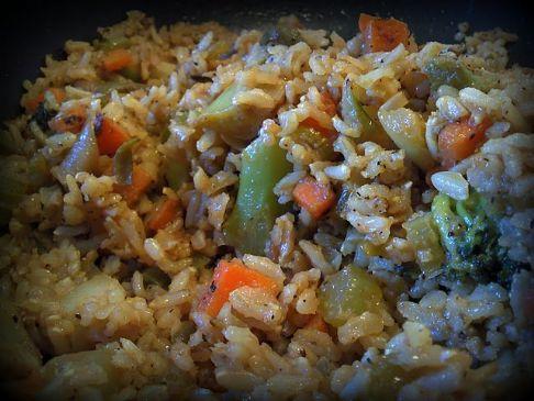 Easy Veg Fried Rice