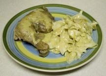 Creamed Chicken