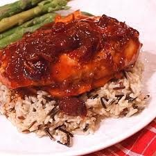 A lighter cranberry chicken