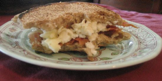 Image of Almost A Subway Egg White Muffin Melt!, Spark Recipes