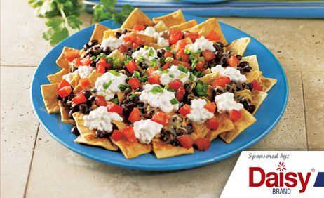 Black Bean Nachos from Daisy Brand�