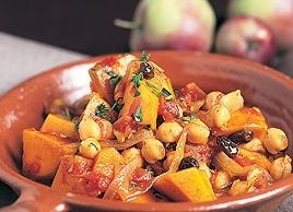 Squash and Chick Pea Stew