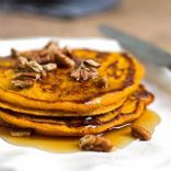 Homemade Pumpkin Pancakes - 2 (4