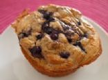 Clean Eating Blueberry Protein Muffins
