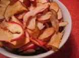 Sweet & Crispy Apple Chips