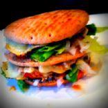 Mig Back double veggie cheeseburger (Big Mac BETTER!)