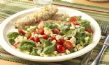 Spinach and Tomato Pasta Salad (Chef Meg's Makeover)