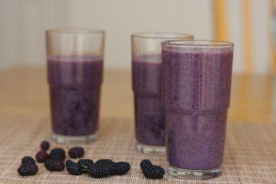 Mulberry Milk Shake