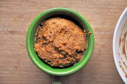 Flax Muffin in a Mug