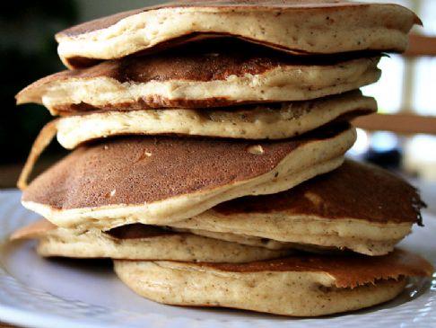 Chai Buttermilk Pancakes