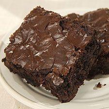 Low Fat Fudge Brownies