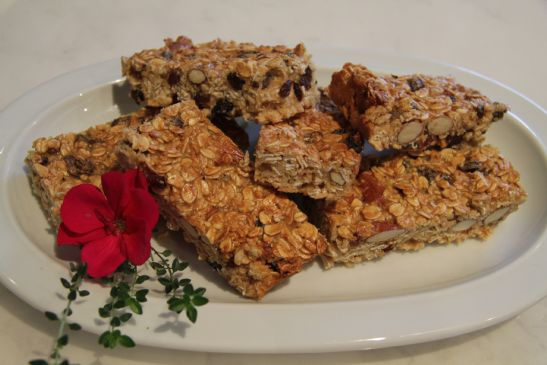 healthy oatmeal fruit bars fruits