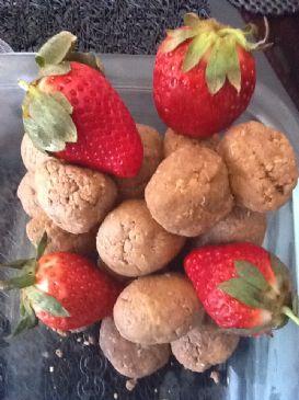No Bake Peanut Butter Protein Balls