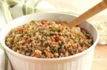 Chef Meg's Herbed Bulgur and Lentil Salad (SparkRecipes.com)