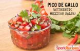 Pico de Gallo (Authentic Mexican Salsa)