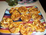 Muffin Quiche -Broccoli, Ham, Cot Ch, Cheddar Ch, Walnuts