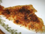 Parmesan Crusted Flounder