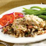 HealthierLynn's Wild Rice & Chicken Casserole