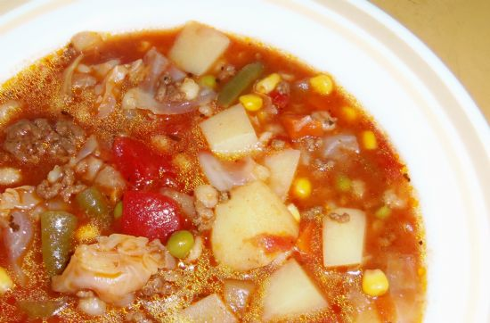 Crockpot Vegetable Soup