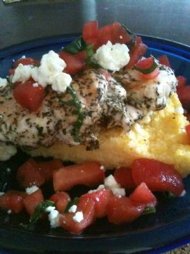 L Chicken Recipes Basil Chicken and Toma...