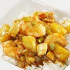 Polynesian Sweet and Sour Shrimp