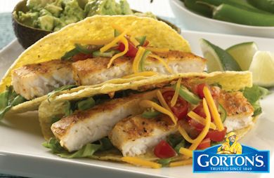 Gluten Free Grilled Tilapia Tacos from Gorton's