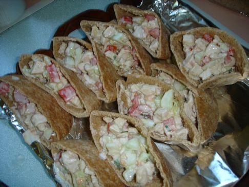 Greek Pita Sandwich Greek Chicken Cucumber Pita