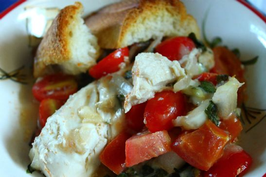 KimD's Bruschetta Chicken Bake