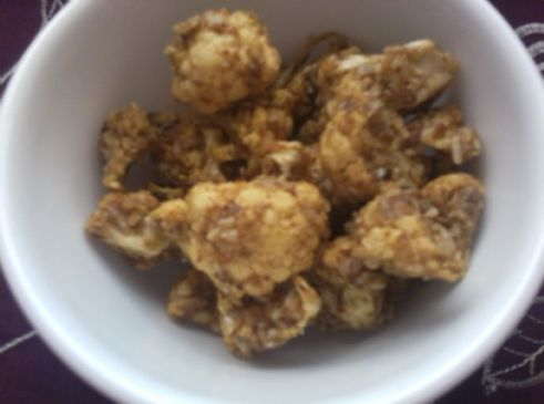 Coconut Almond Butter Cauliflower Bites