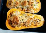 Twice Baked Bacon & Butternut Squash