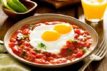 Baked Eggs with Spicy Tomato Sauce