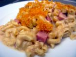 Baked Macaroni, Ham and Cheese
