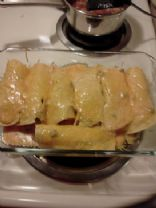 Turkey and Cheese Enchilladas