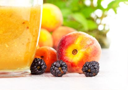 Peach Yogurt Fizz RECIPE