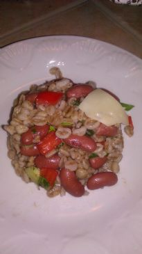 BL Red Team Farro Salad