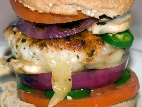 Actually Delicious Turkey Burger Recipe | SparkRecipes