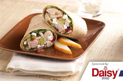 Turkey Salad Roll-Ups from Daisy Brand