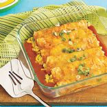 Heidi's Low-Fat Chicken Enchiladas