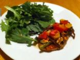 Mediteranian Chicken with Tomato Salad (South Beach Phase 1)