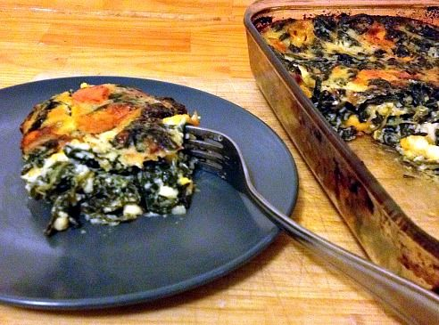 Spinach & Egg Casserole