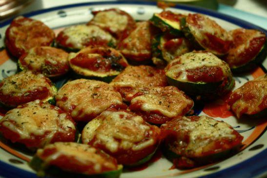 Zucchini Pizza Bites (Gluten Free)